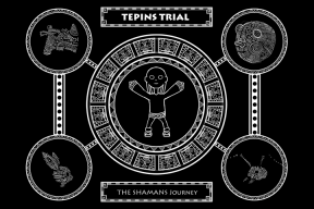 Tepins Trial - Title Screen